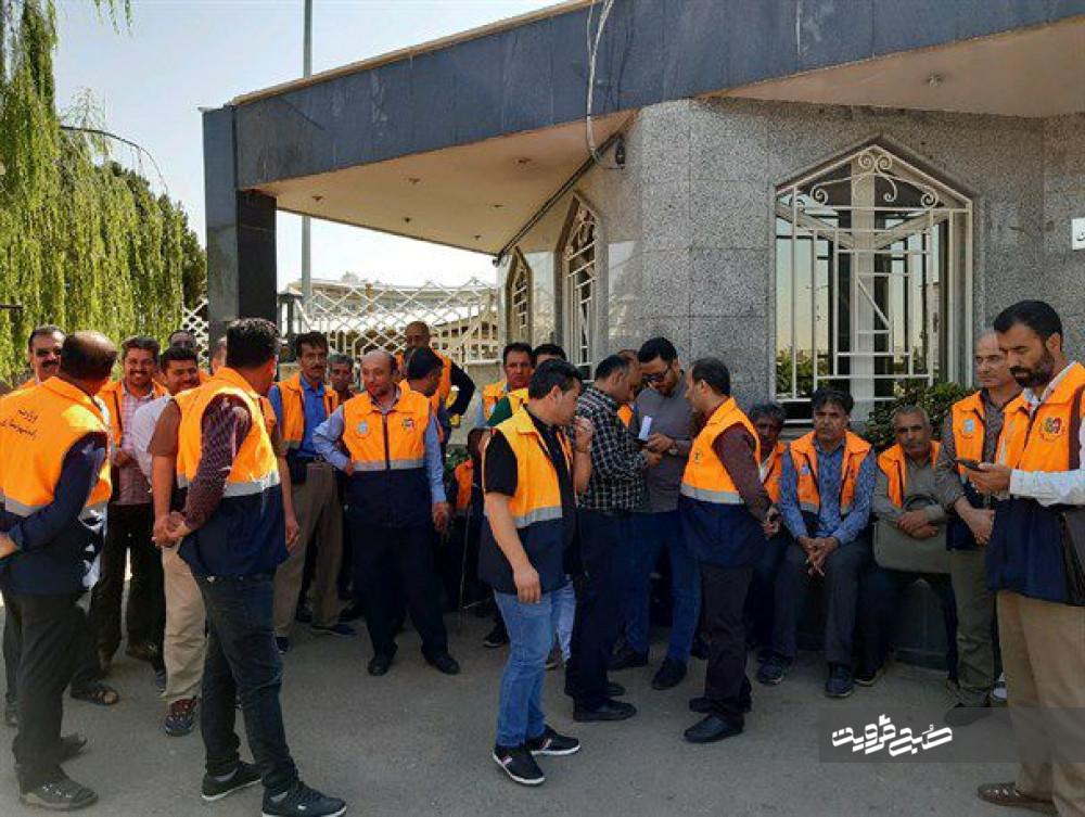 واریز معوقات کارکنان عوارضی قزوین/ هنوز هیچ ارگانی مسئله بازگشت به کار نیروهای ما را قبول نکرده است