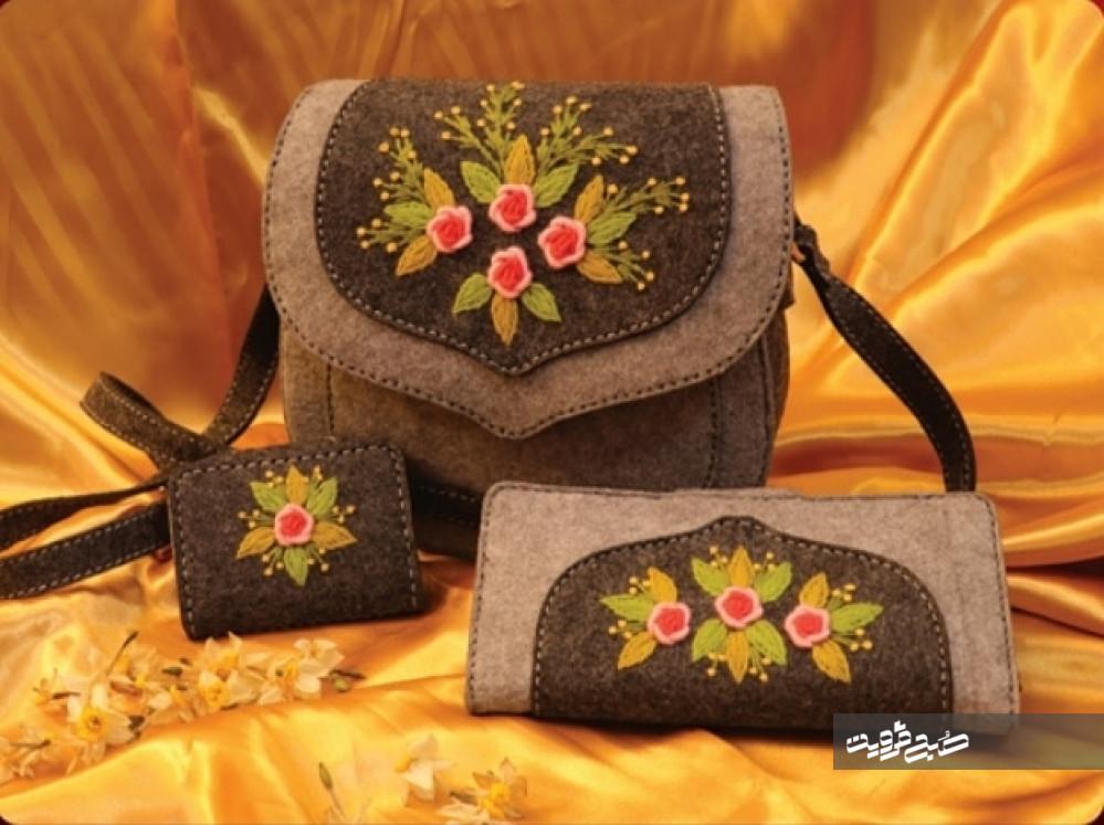 سوزندوزی هنری کمهزینه اما پرکاربرد است/ صادرات صنایع دستی قزوین باید شتاب گیرد