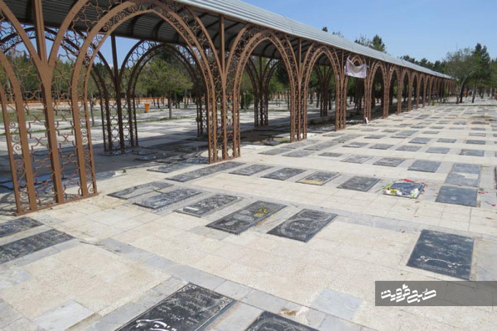 ۴۹۹ فوتی در آرامستانهای قزوین پذیرش شدند