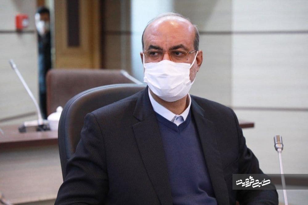 ۵شهرستان استان قزوین از وضعیت قرمز کرونایی خارج شد