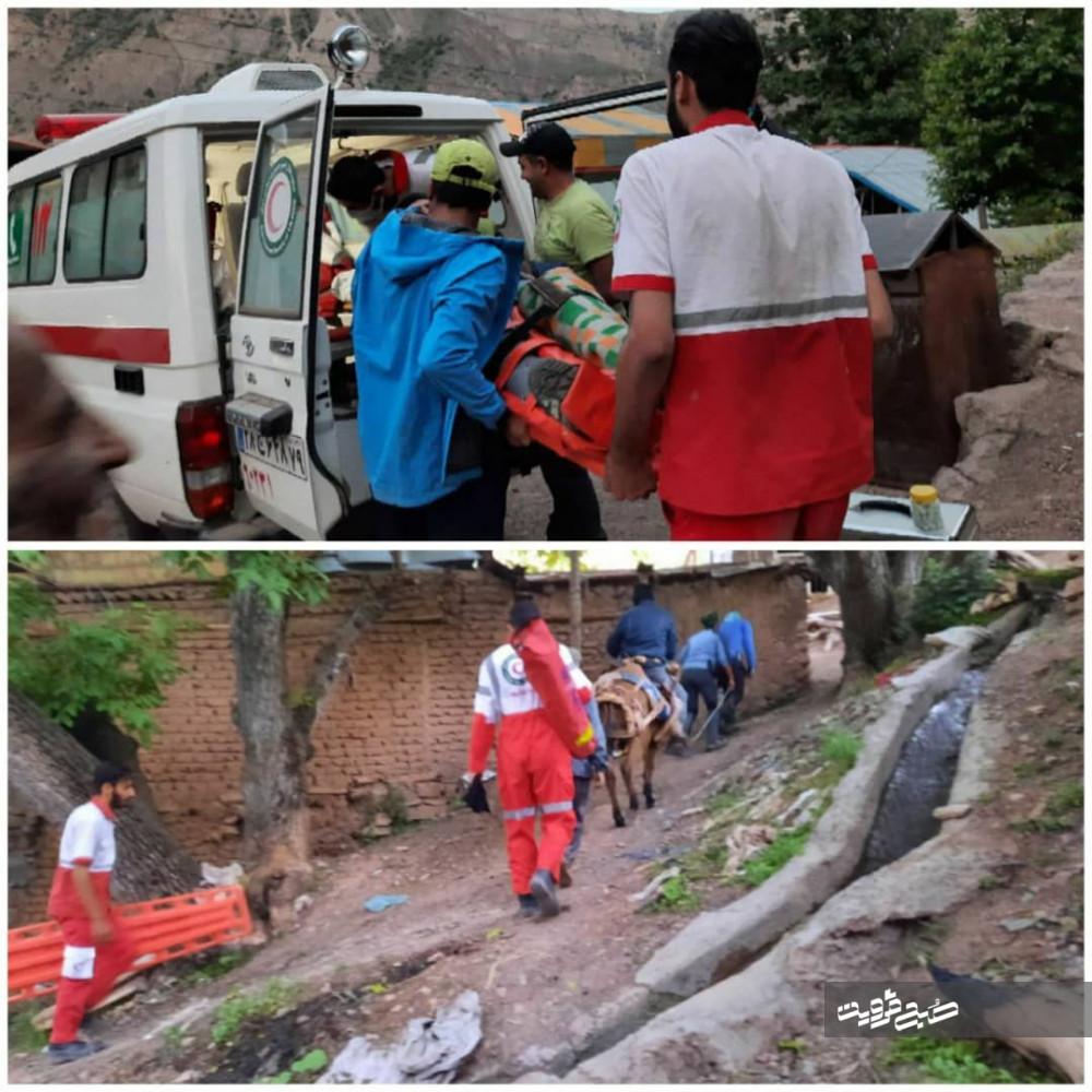 سقوط مردی ۳۹ ساله از ارتفاعات قله سیالان الموت