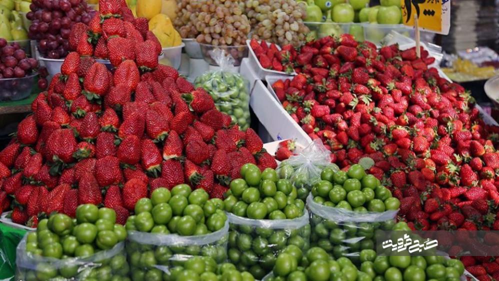 جدیدترین نرخ میوهوترهبار در بازار قزوین/ سرمازدگی نوبرانههای بهار را گران کرد+جدول قیمتها