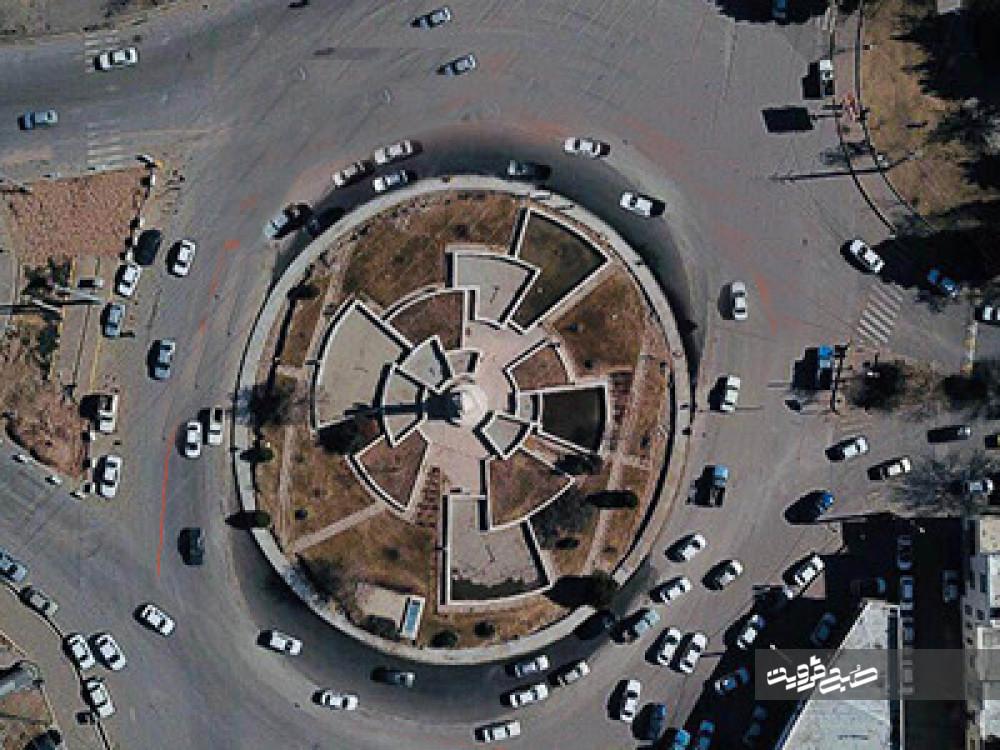 اصلاح هندسی ۶نقطه شهر قزوین در سال گذشته