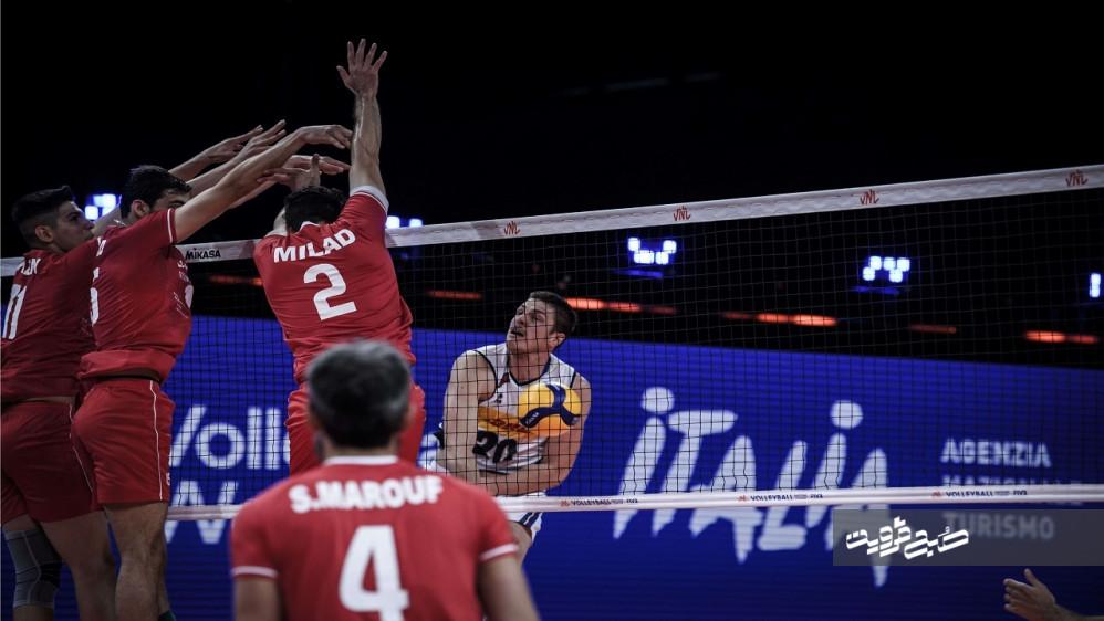 ایران ۳ - ایتالیا یک/ شاگردان آلکنو میزبان مسابقات را نقره داغ کردند