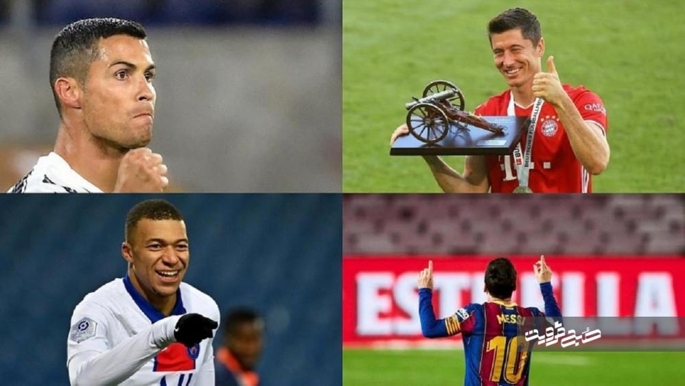۱۰ بازیکن برتر فوتبال جهان در فصل ۲۰۲۱-۲۰۲۰