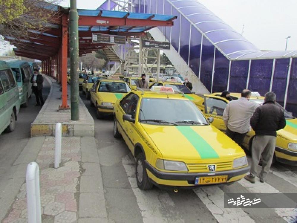 میانگین سن تاکسیهای قزوین حدود ۹/۵ سال است