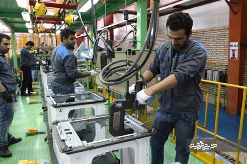 بازگشت بیش از ۱۰۰ واحد تولیدی استان قزوین به چرخه تولید