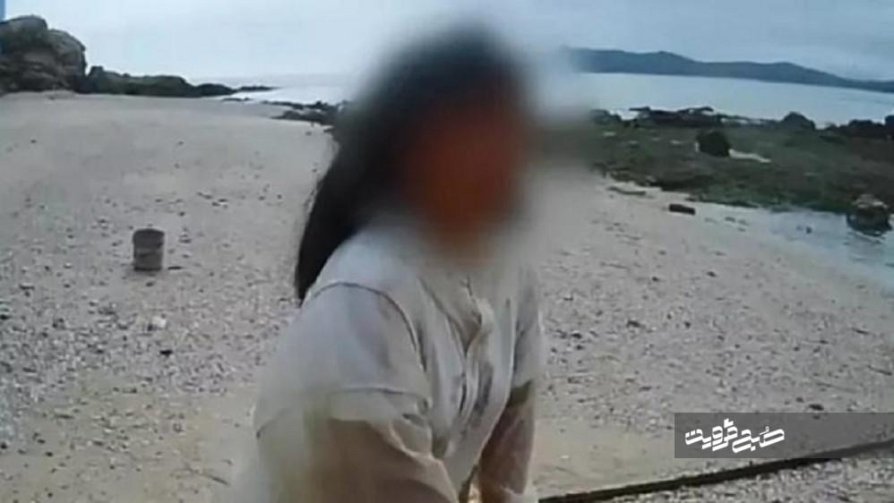 رها کردن دختر ۱۳ ساله در جزیرهای متروکه با هدف تربیتی!
