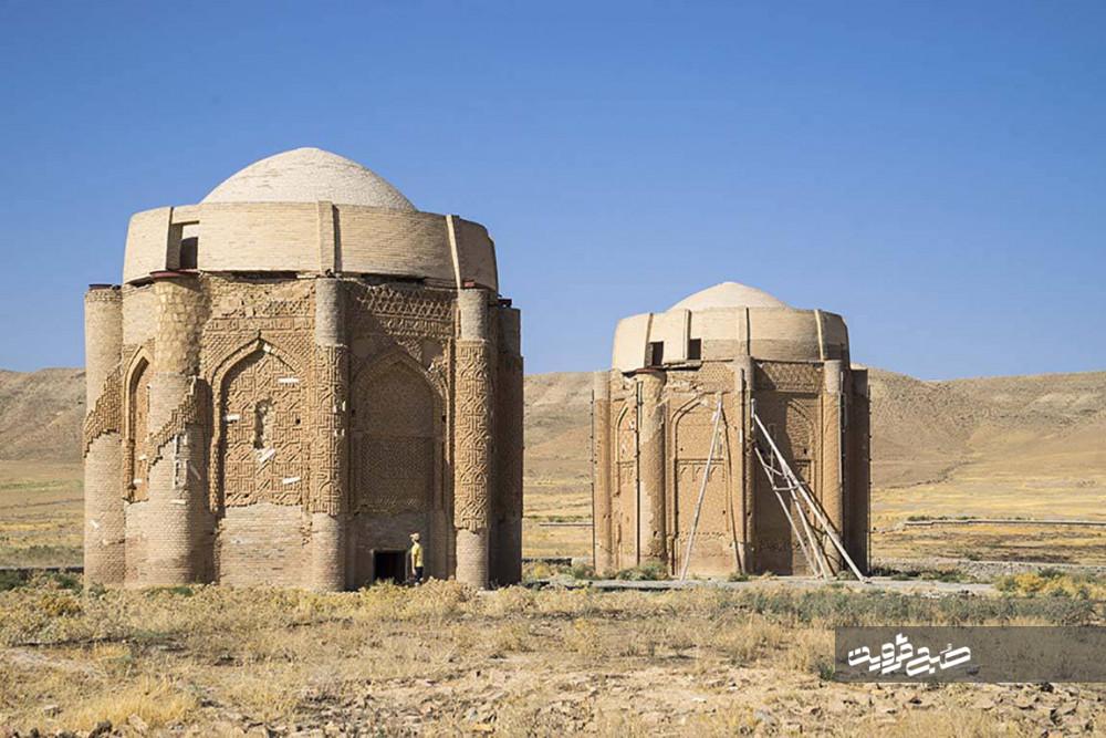 خانهای خفته خرقان؛ تجلی تاریخیترین آرامگاههای قزوین