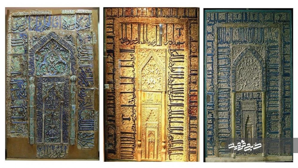 «محراب نجف» مشهورترین محراب حرم امام علی(ع)/ محلی که قابل دیدن نیست + عکس