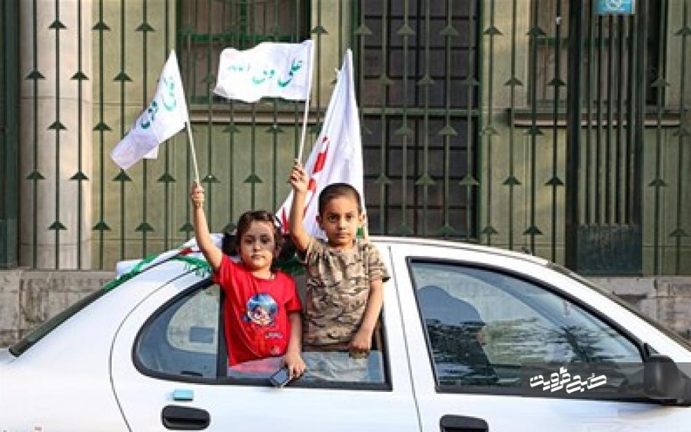 بزرگداشت عید غدیر با راه اندازی کاروانهای شادی در دیار مینودری+ فیلم