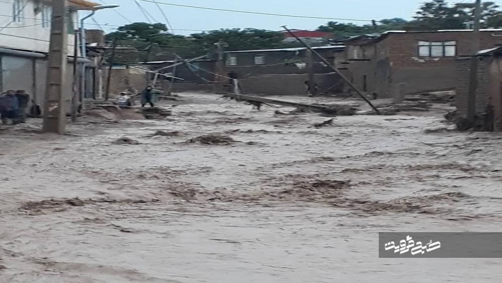 خسارت سیل به ۱۲۴ واحد مسکونی استان قزوین