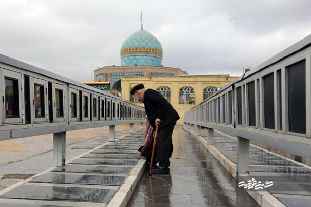 بنیاد شهید پاسخگوی نابسامانی گلزار شهدای قزوین باشد