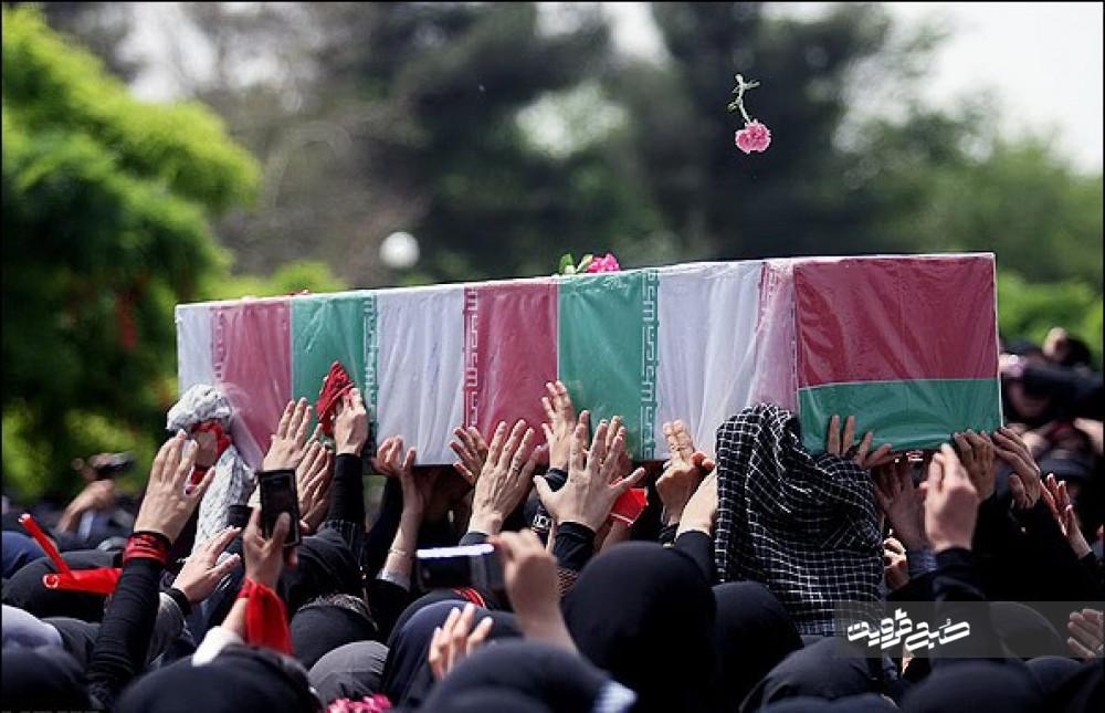 پیکر مطهر شهید مرتضی کریمی در شهر شال تشییع میشود