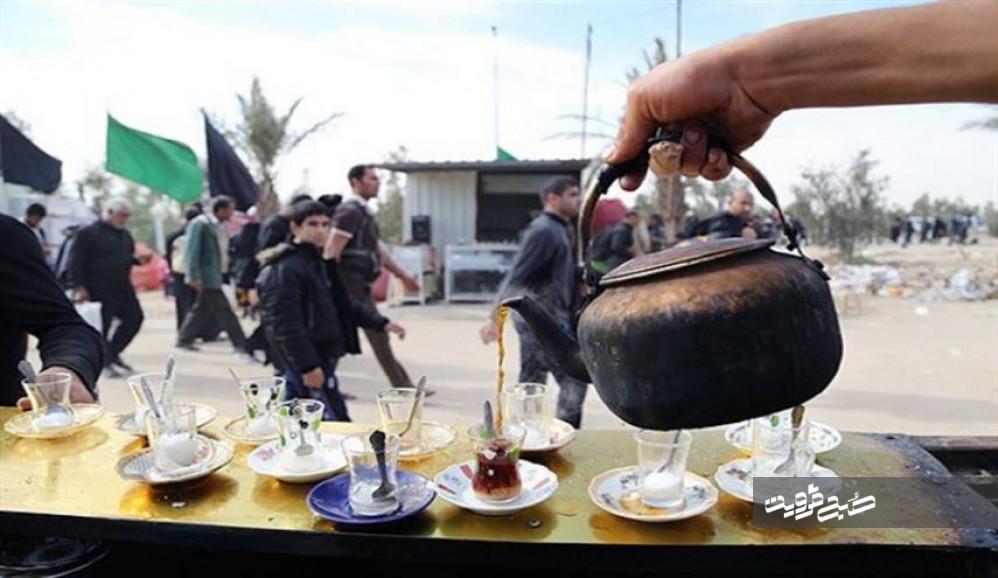 ۵۶موکب استان قزوین در اربعین فعالیت میکنند