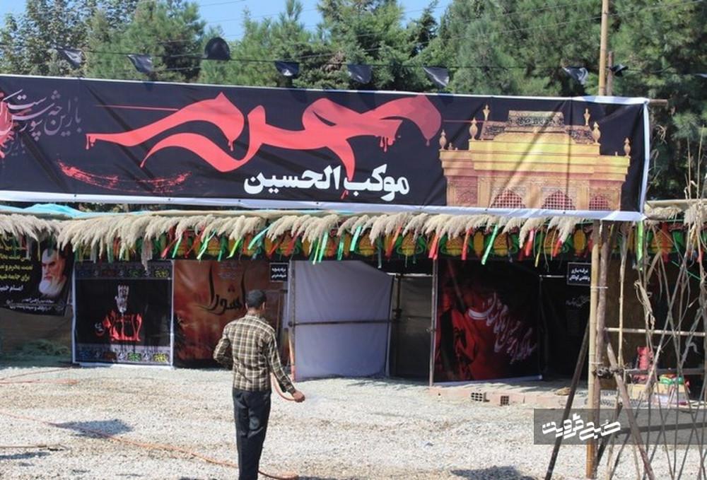 اعزام ۴۰ موکب قزوینی در قالب چهار قرارگاه به عراق