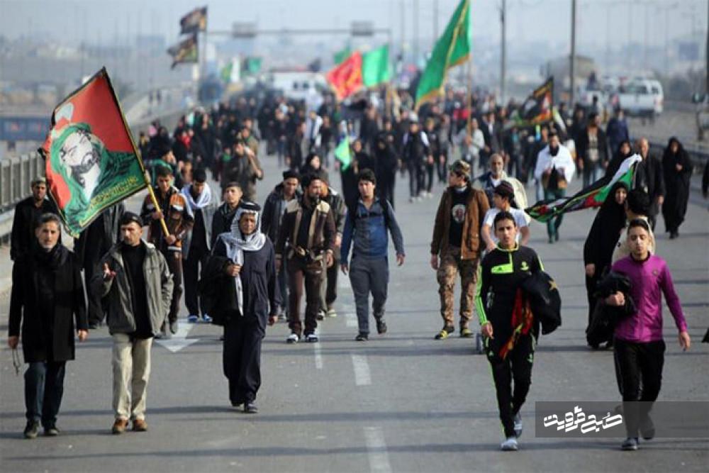 آمار اعزام زائران اربعین استان قزوین صددرصد تحقق یافت