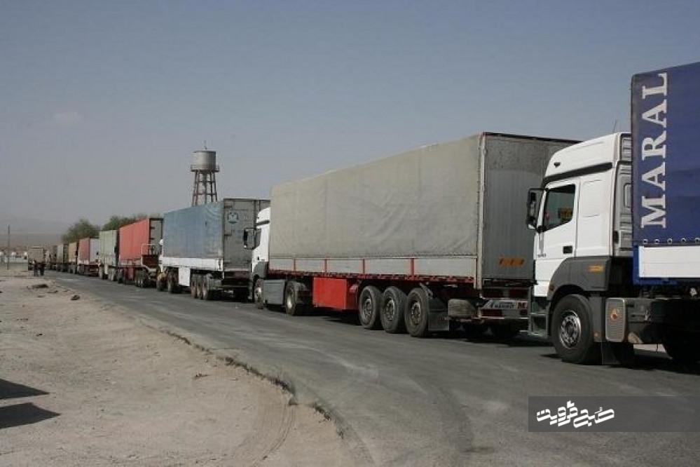۵میلیون تن کالا با ناوگان حمل و نقل جادهای قزوین جابهجا شد