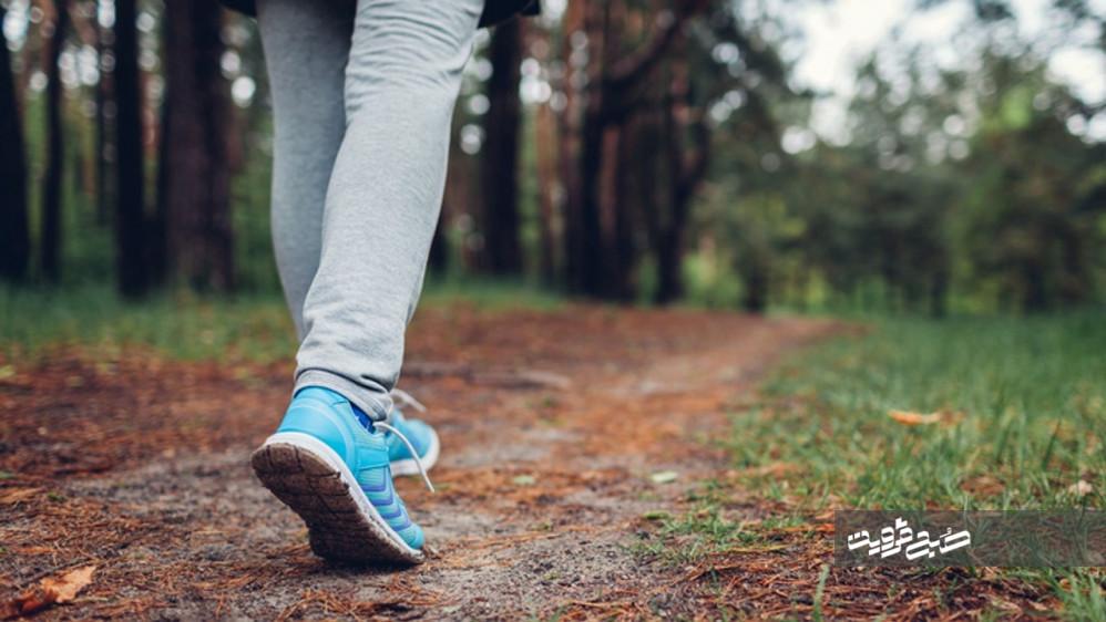 فواید و عوارض پیاده روی با شکم خالی