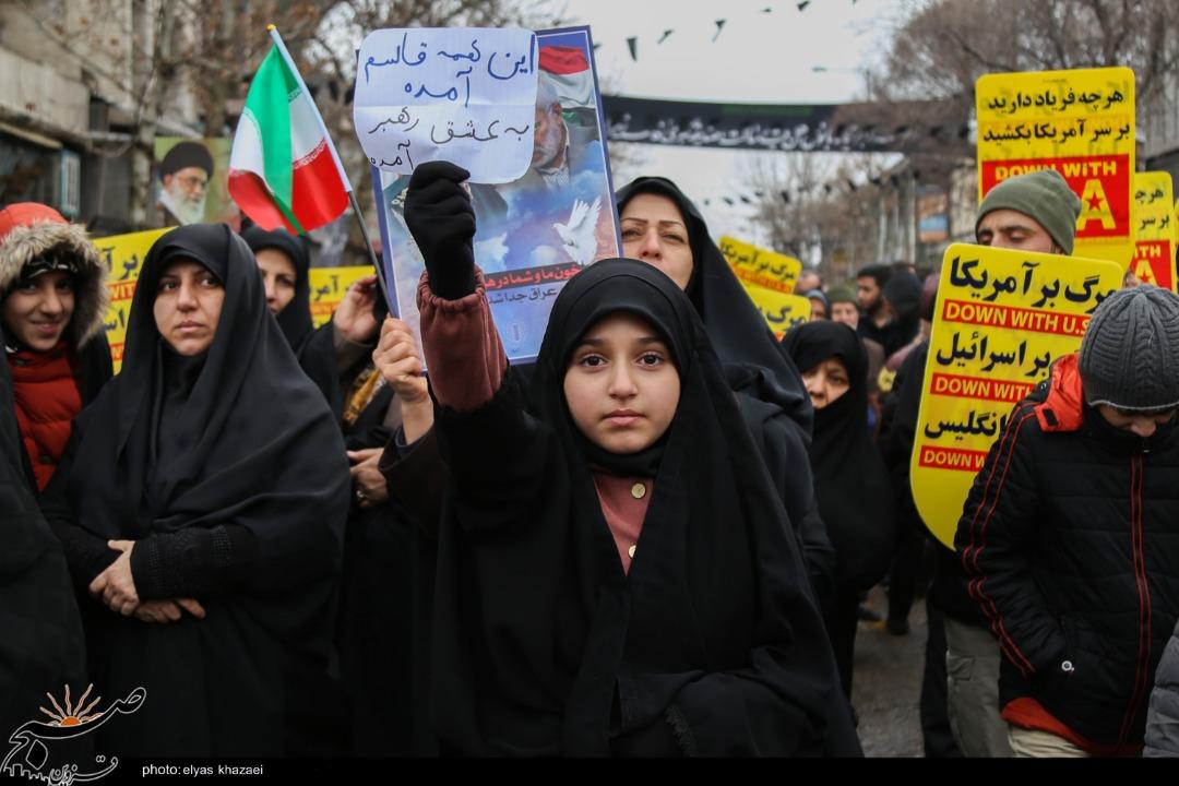 برگزاری راهپیمایی حمایت از اقتدار نظام در قزوین