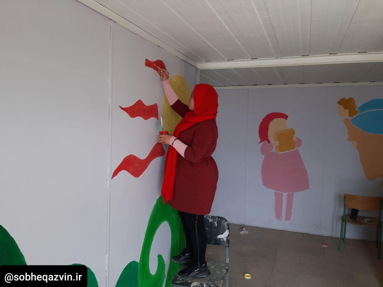جهادی همرنگ قلمهای دانشآموزان مناطق محروم قزوین