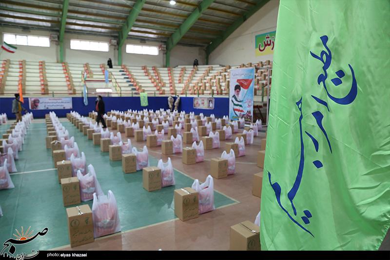 توزیع ۲۰هزار بسته معیشتی در قزوین همزمان با هفته بسیج