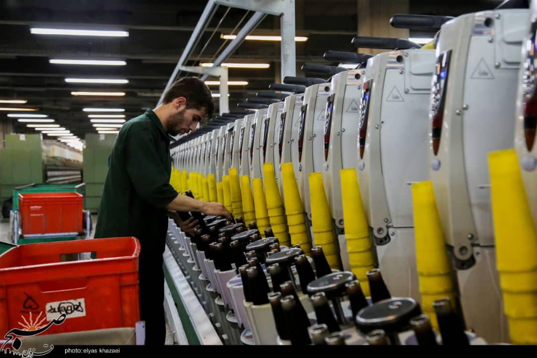 """شرکت ریسندگی و بافندگی شهید مطهری قزوین پیشتاز در """"جهش تولید"""""""