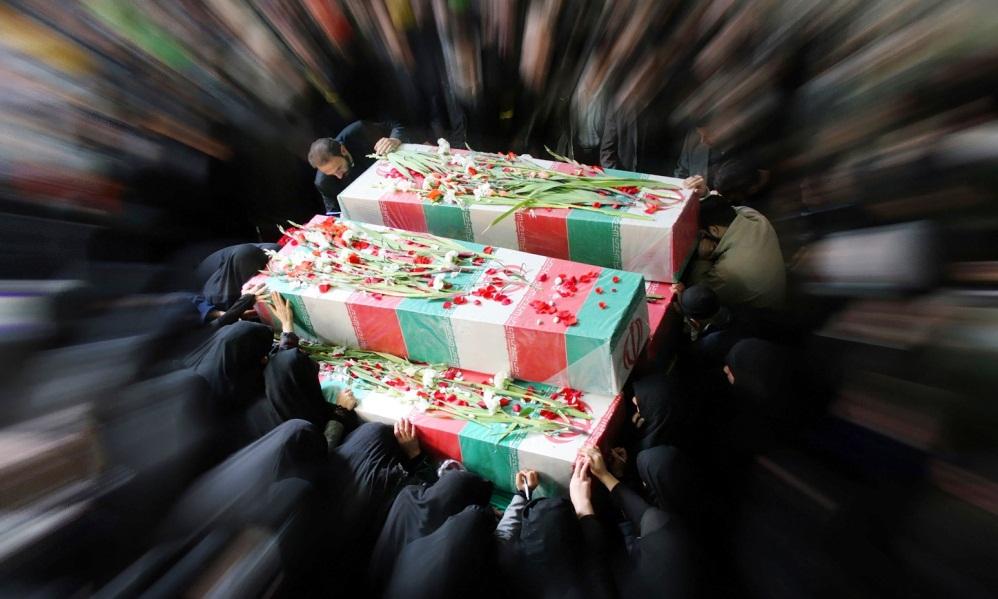 پیکر ۱۱۵ شهید تازه تفحص شده  وارد خاک ایران شد