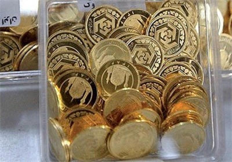 افت قیمت انواع سکه در بازار +جدول