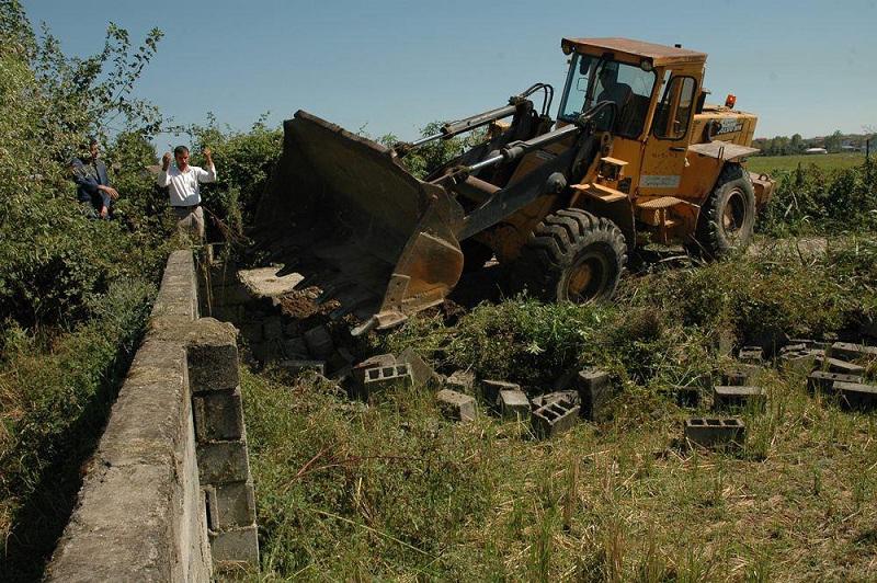 ۶هزار متر مربع از اراضی کشاورزی رفع تصرف شد