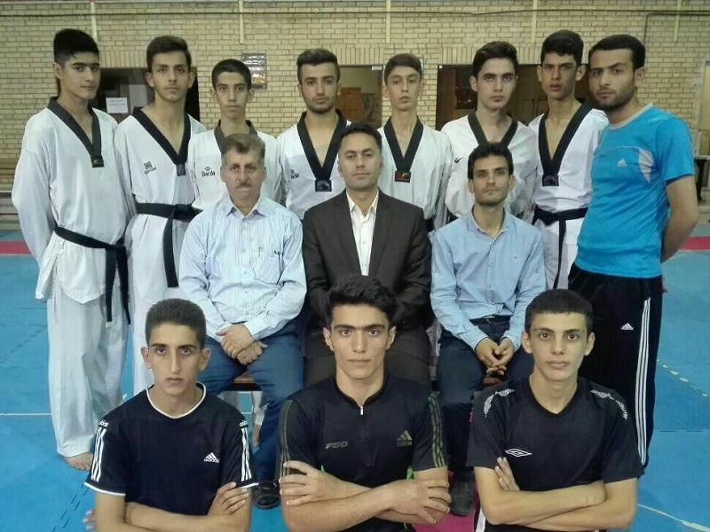 تیم تکواندو نوجوانان قزوین مقام چهارم کشور را کسب کرد