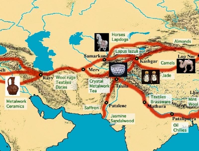 کتاب جاده ابریشم در گذرگاه سرزمین قزوین منتشر شد