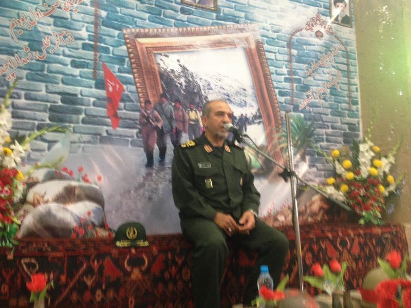 يادواره ١٥٦ شهيد و شهداي مدافع حرم بخش شال برگزار شد+تصاویر