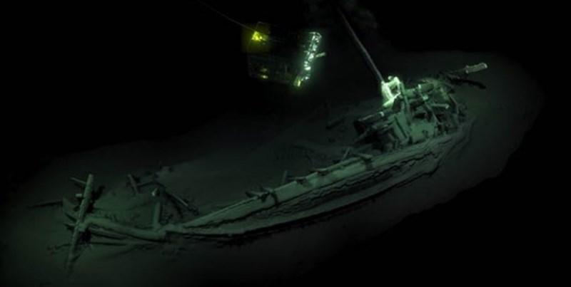 قدیمیترین کشتی جهان در دریای سیاه پیدا شد