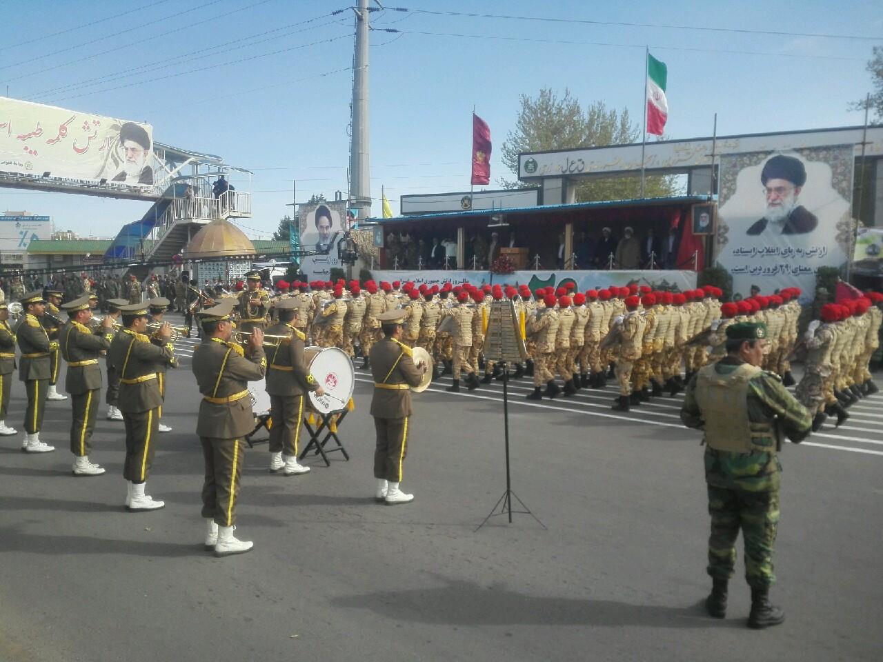 نیروهای مسلح همچون بازویی پرتوان، آماده حفاظت از مرزهاست