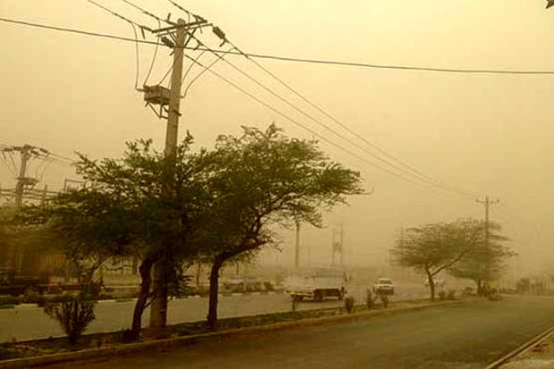 وزش بادهای شدید و بارش برف و باران در قزوین/ احتمال سرمازدگی در باغات وجود دارد