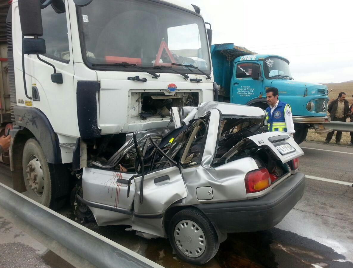 کاهش ۵۰درصدی فوتیهای تصادف