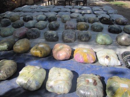 کشف مواد مخدر در قزوین