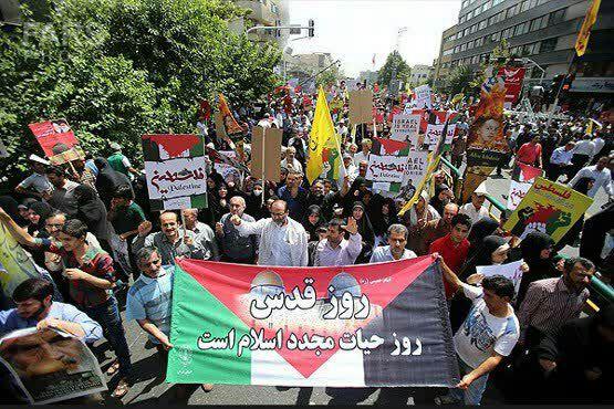 """روز """"قدس"""" به کابوسی برای اسرائیل بدل گشته است"""