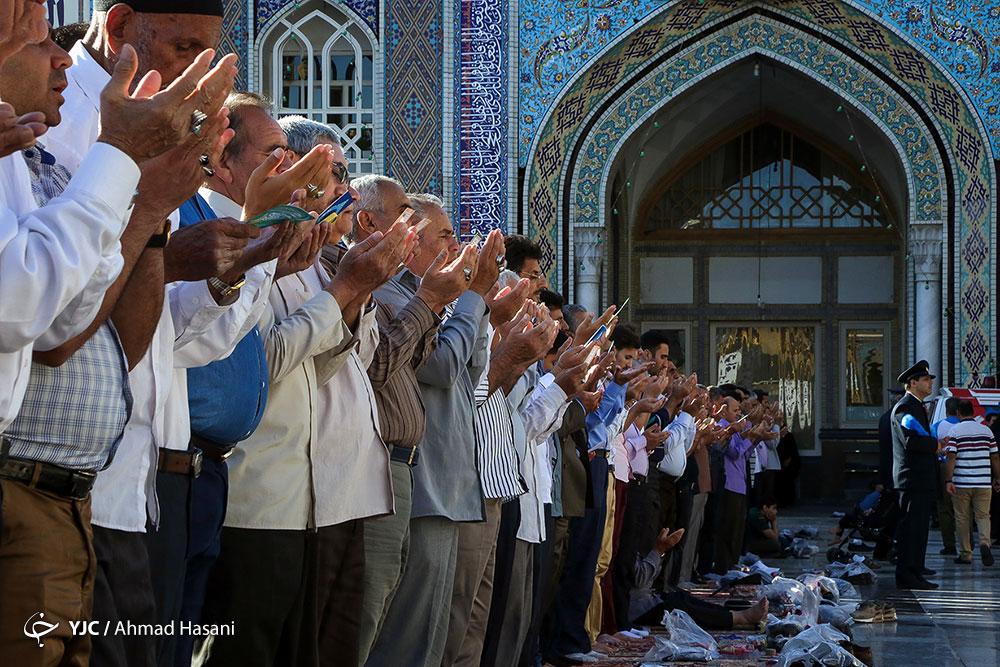 چهارشنبه پانزدهم خرداد عید فطر است