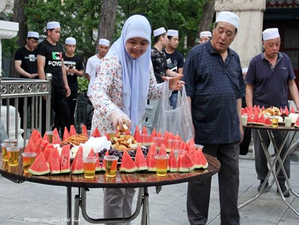 افطار در مساجد پکن/تصاویر