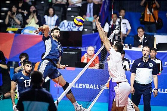 ایران در مکان دوم لیگ ملت های والیبال ۲۰۱۹ +جدول