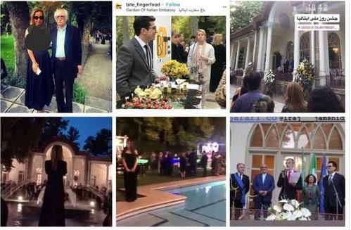 فضاحت در سفارت ایتالیا/ شاه برگشته است؟! +تصاویر