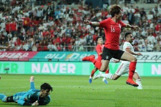 کره جنوبی یک - ایران یک ؛ تساوی در بازی آتشبار