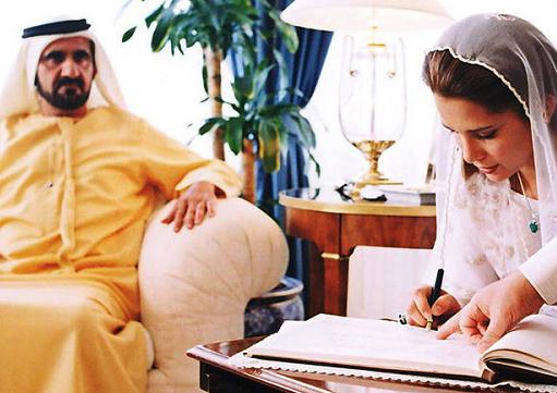 زوایایی پنهان از زندگی همسر فراری حاکم دبی + تصاویر