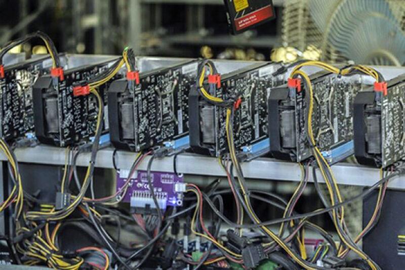 کشف ۷ محل استخراج ارز دیجیتال «بیت کوین» در قزوین
