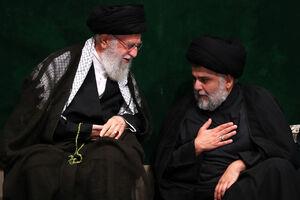 بازتاب حضور مقتدی صدر در کنار رهبرانقلاب +تصاویر