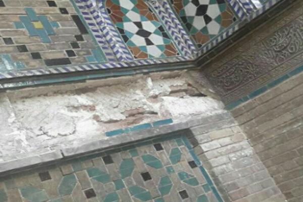 سرقت کتیبههای خطی مسجد ملاوردیخان قزوین تائید شد!/ کتیبههایی بازمانده از دوران زندیه و صفویه
