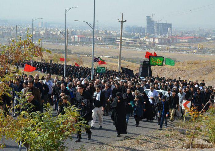 پیادهروی ویژه جاماندگان اربعین در قزوین برگزار میشود