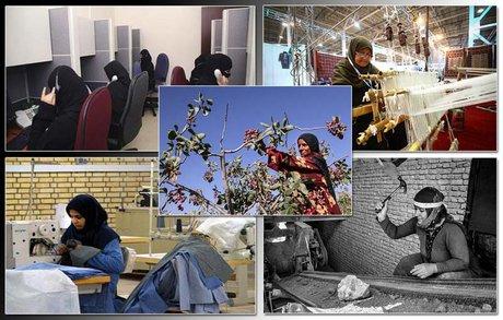 زنان ایرانی؛ آهسته و پیوسته در مسیر نقشآفرینی/ سهم بانوان از رونق تولید چقدر است؟